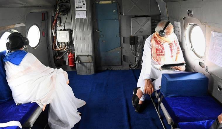 cyclone amphan west bengal kolkata pm narendra Modi Chief Minister mamata Banerjee