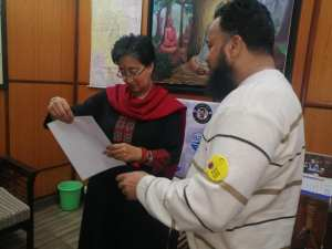 social activist khalid saifi caa nrc covid