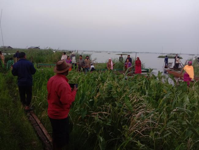 loktak inland waterways project Manipur wetlands