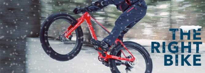 The right bike for winter biking
