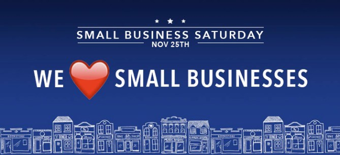 Shop Small Business Saturday November 25th