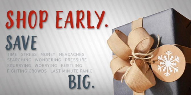 Shop Early Save Big - Get a head start on your holiday shopping at Asheville Bicycle Company