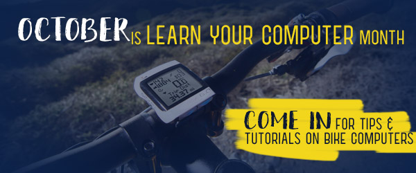 Learn your bike computer at Asheville Bicycle Company