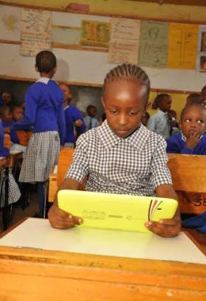Digi School tablet.  Photo @ICTAuthorityKE