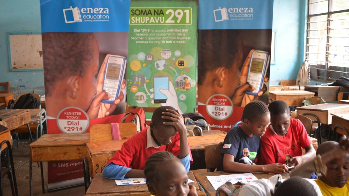 """Résultat de recherche d'images pour """"kenya, nairobi, Eneza, Eneza, startups, 2016, 2017"""""""