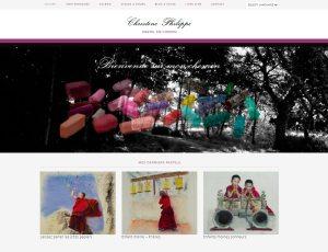 Site web : christinephilippe-pastelliste.com
