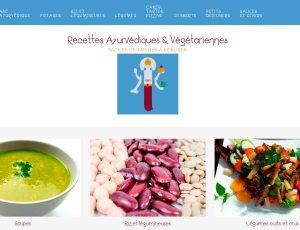 Site web : Recettes Ayurvédiques & Végétariennes