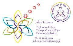 Carte De Visite Julien Le Roux Recto
