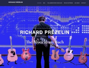 Site web : richardprezelin.fr