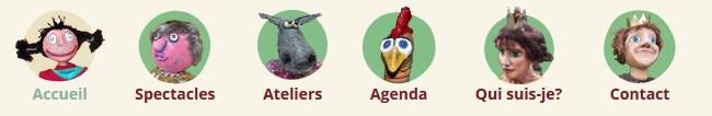 menus personnalisés sous WordPress