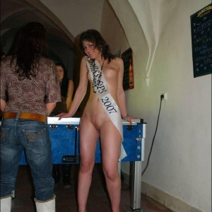forced to strip naked embarrassed