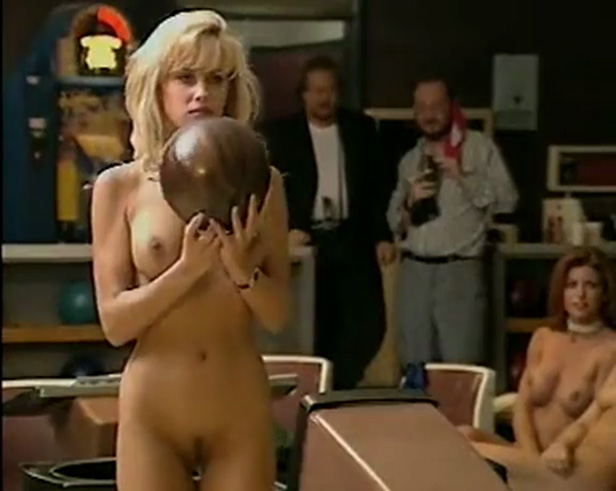 Cmnf Bowling Party Girls Play And Strip While Men Watch And Comment