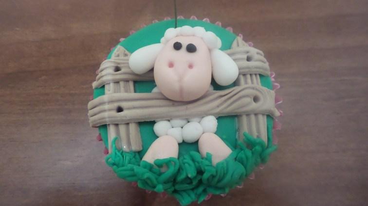 Cupcake oveja