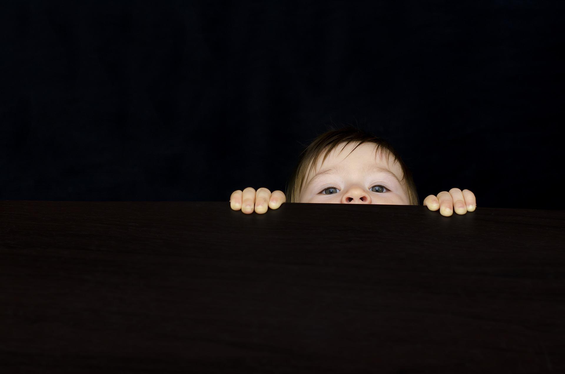 Oh une petite tête curieuse ! Y a-t-il plus beau regard que celui d'un petit être envieux de curiosité ?