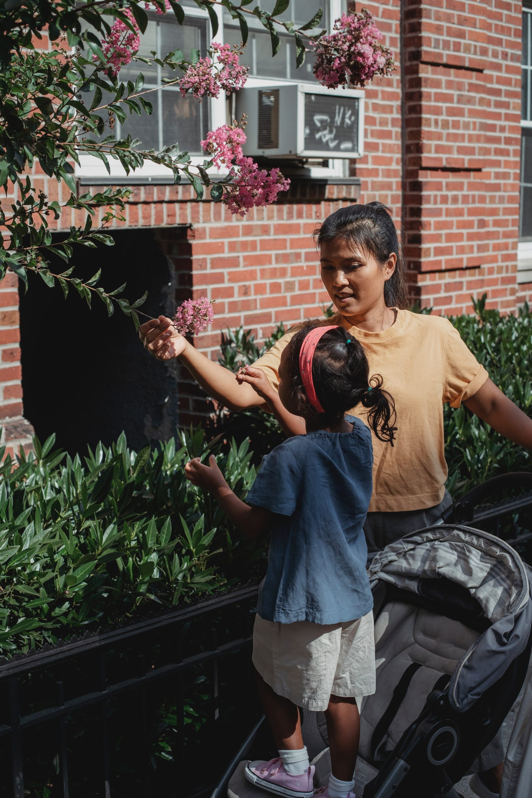 Nous devons montrer l'exemple en pratiquant ce que nous voulons que l'enfant pratique mais nous devons aussi partager avec lui ce que nous découvrons ou ce que nous aimons dans la nature.