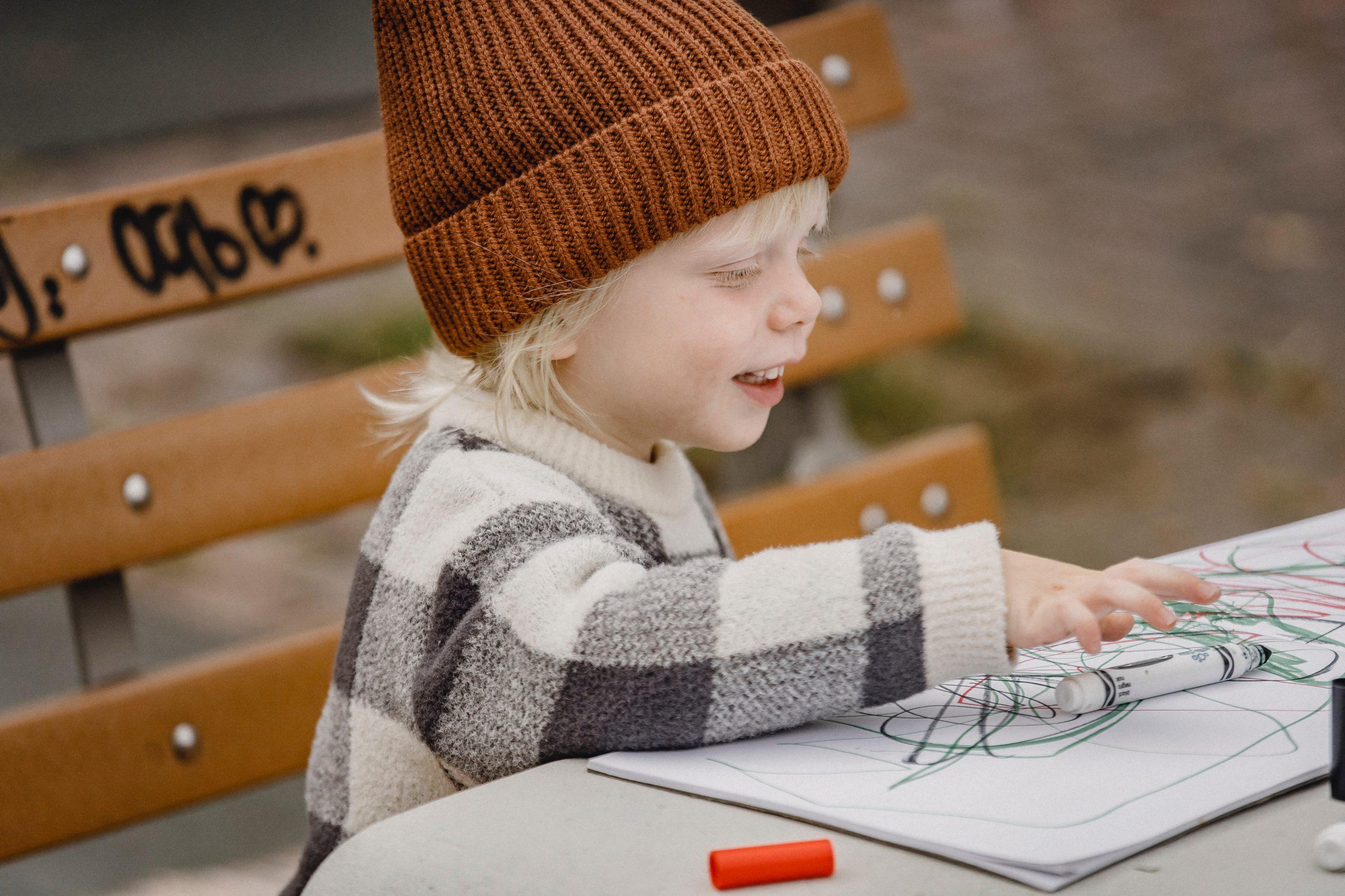 Même les plus jeunes prendront plaisir à dessiner les merveilles de la nature.