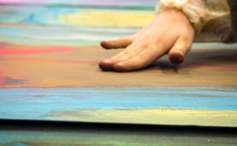 Les vidéos du bain de couleurs à l'École bilingue de Haute Savoie