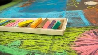 Le bain de couleurs des Petits dessins