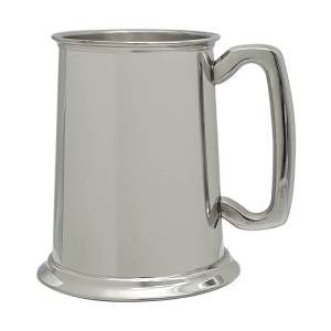 One Pint Pewter Tankard