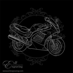 Suzuki RF Motorcycle Artwork