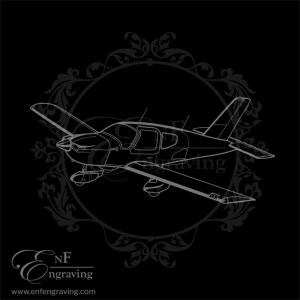 Socata TB9 Aircraft Artwork