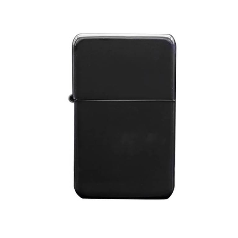 Black coated Brass petrol Lighter