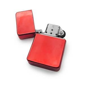 Premium Red Cigarrette Lighter Open