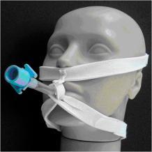 Ilustração de fixação de tubo endotraqueal