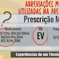 Abreviações mais Comuns Utilizadas na Prescrição Médica
