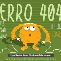 Erro 404: Ops! Algo não está correto..!