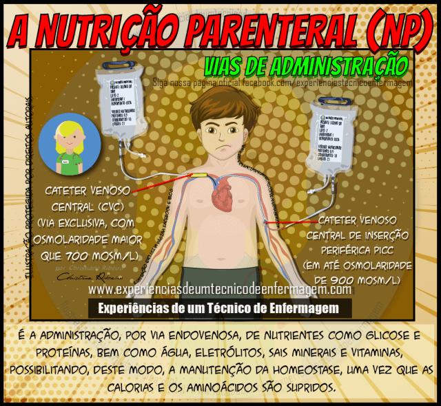 A Nutrição Parenteral (NP)