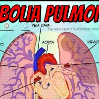 O Que é Embolia Pulmonar?