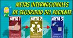 Las metas internacionales de la seguridad del paciente