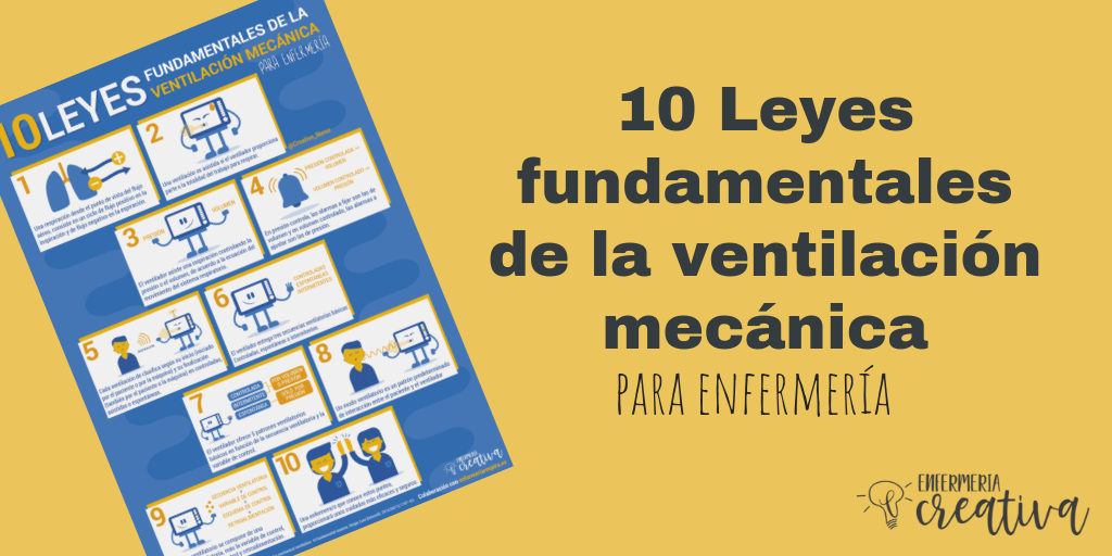 Las 10 Leyes fundamentales de la ventilación mecánica para enfermería