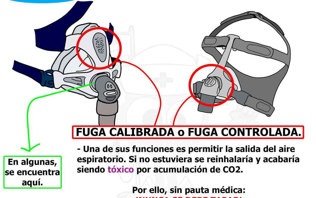 MI MASCARILLA PIERDE AIRE: IMPORTANCIA DE LA FUGA CALIBRADA EN VENTILACIÓN MECÁNICA NO INVASIVA