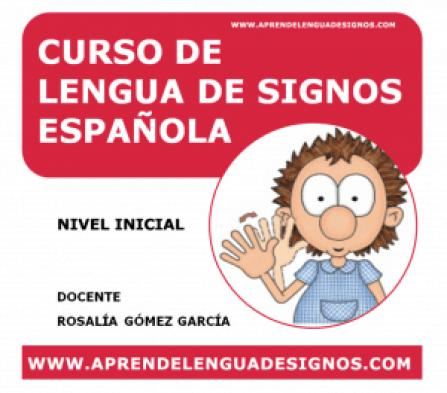 Curso lengua de signos