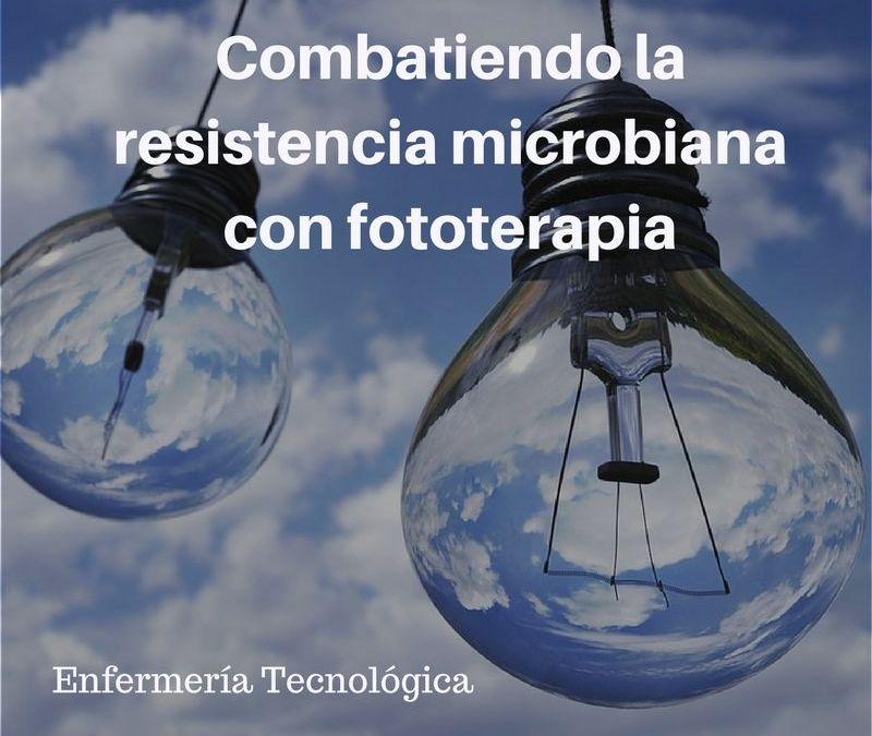 Combatiendo la resistencia microbiana con fototerapia.