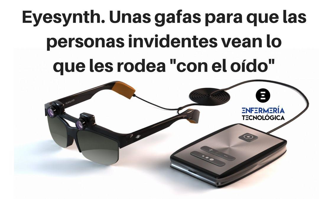 Eyesynth. Unas gafas para que personas invidentes vean lo que les rodea «con el oído»