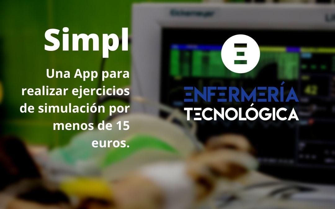 Simpl. Una App para realizar ejercicios de simulación por menos de 15 euros.