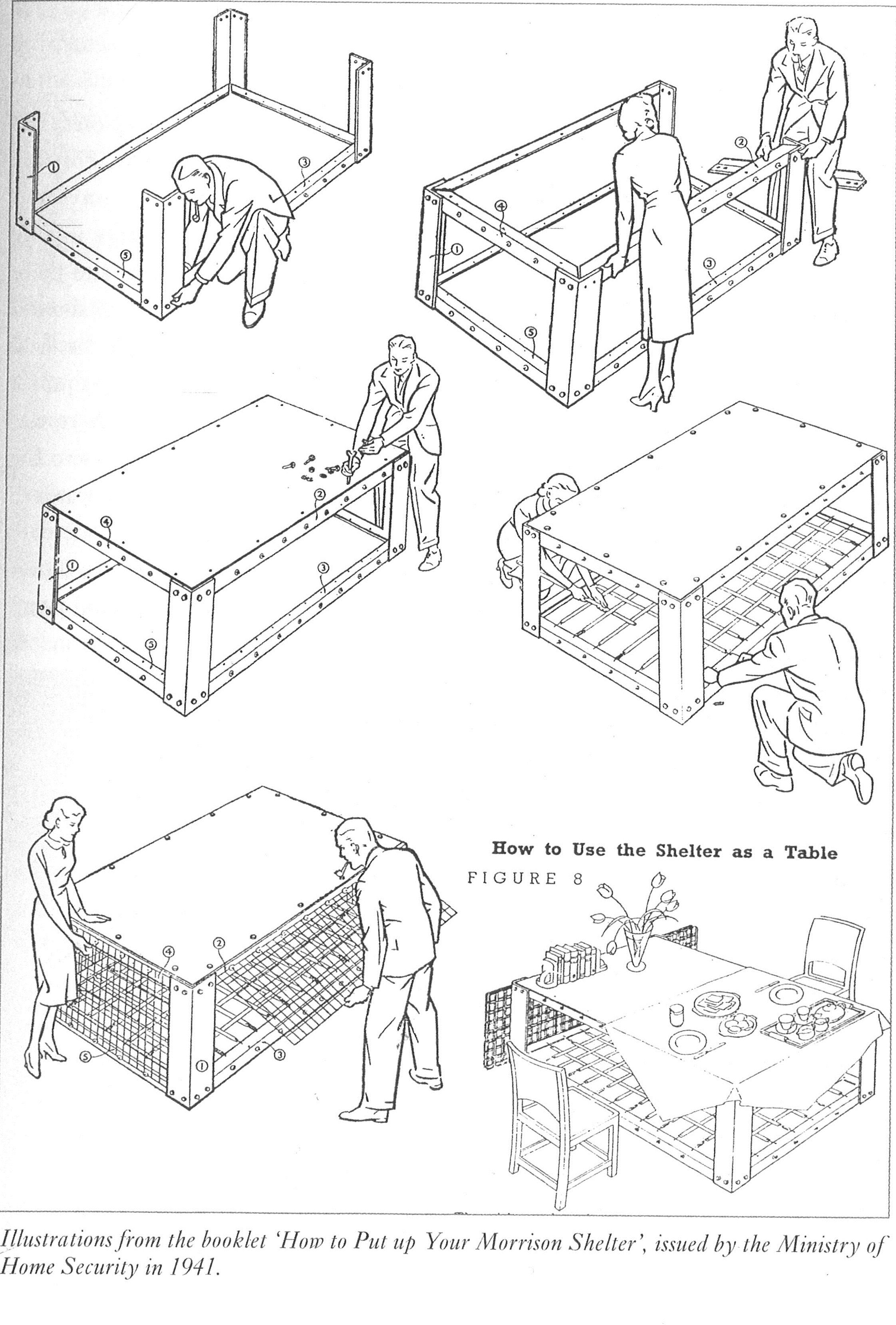How To Build An Anderson Shelter Ww2 Instructions T