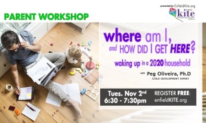 Parent Workshop: Where am I and How did I get here? @ online