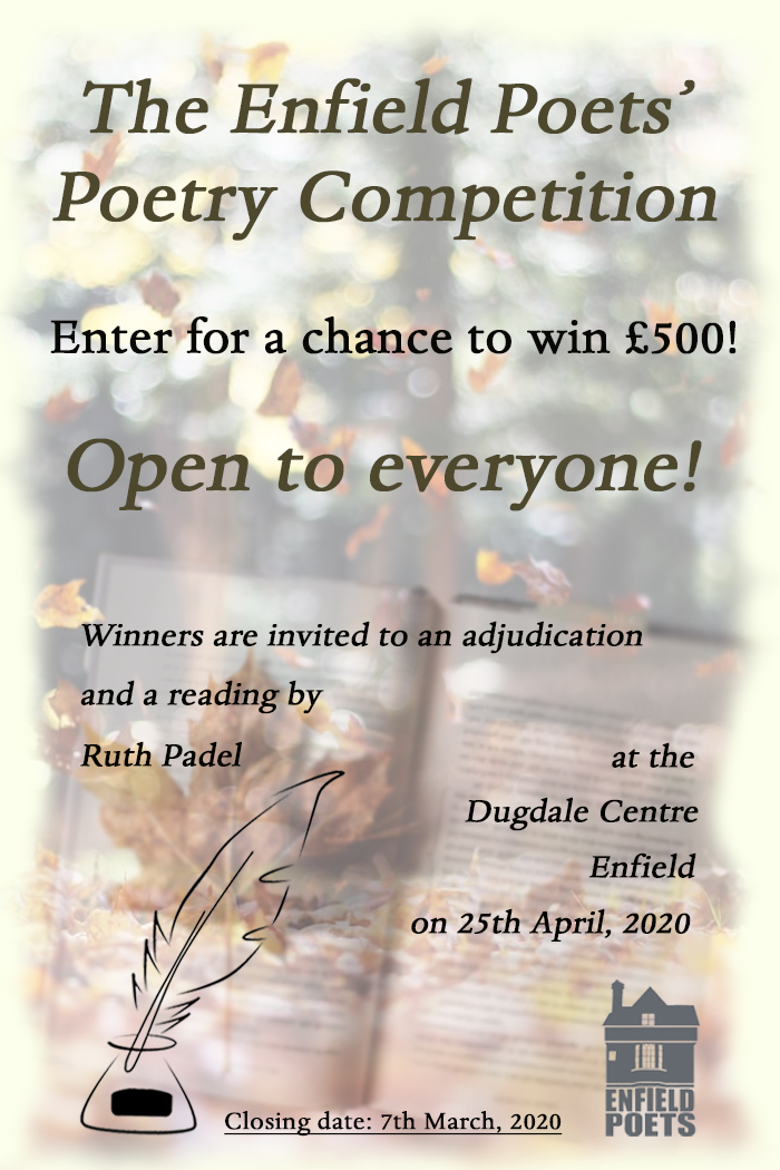The Enfield Poets' Poetry Competition
