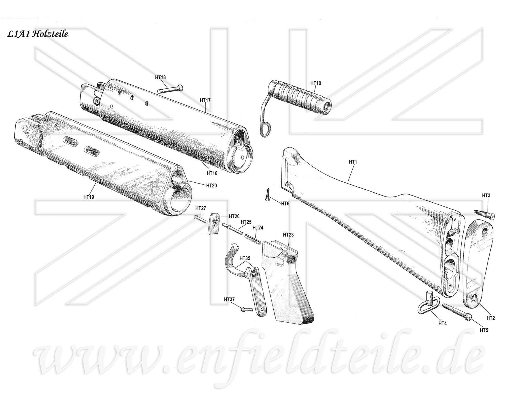 Lee Enfield Parts