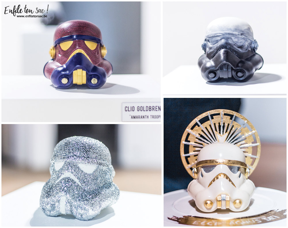 exposition disney star wars legion Star Wars Legion Belgique, quand les artistes belges réinterprètent le casque de Stormtrooper