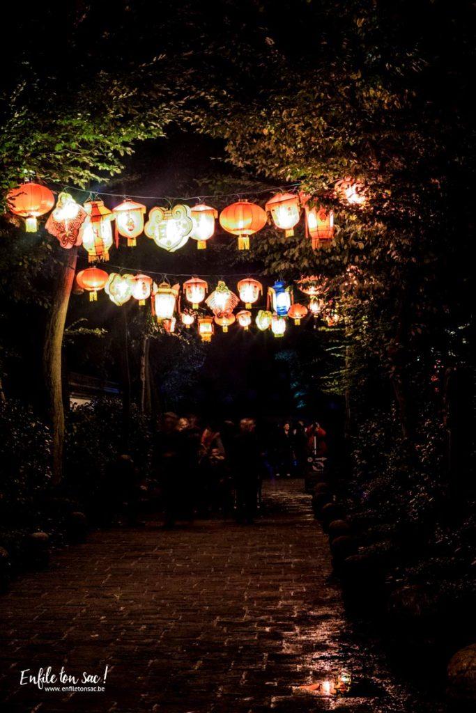 pairi daiza lampions 3 683x1024 Les estivales de Pairi Daiza,  le parc ouvert jusquà 23h   dates, tarifs,info et programmes.