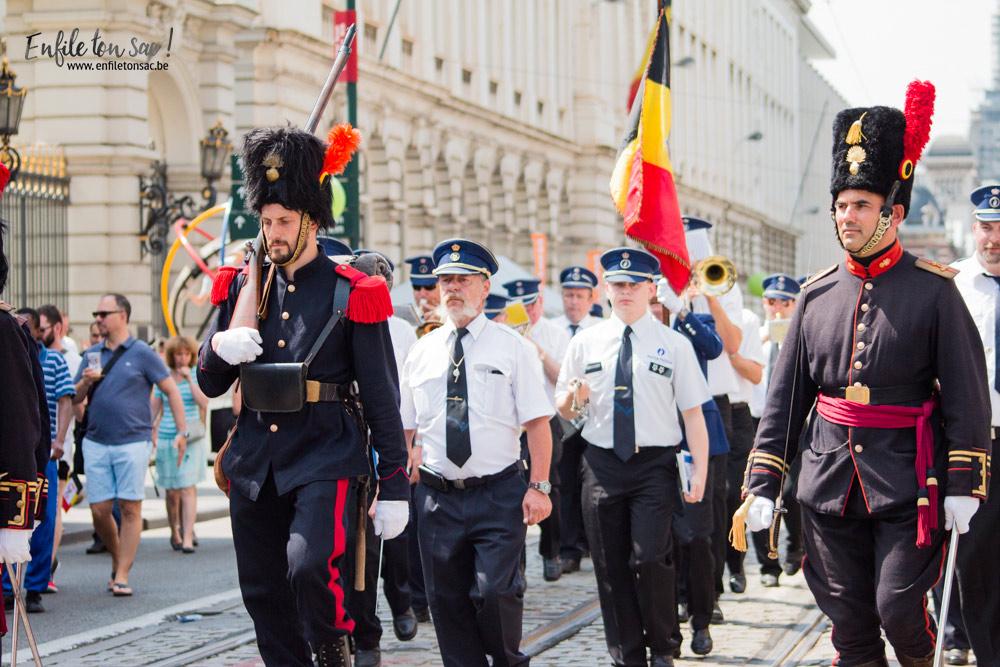 fete nationale belgique police 1 Fête nationale 2016, un 21 juillet à Bruxelles