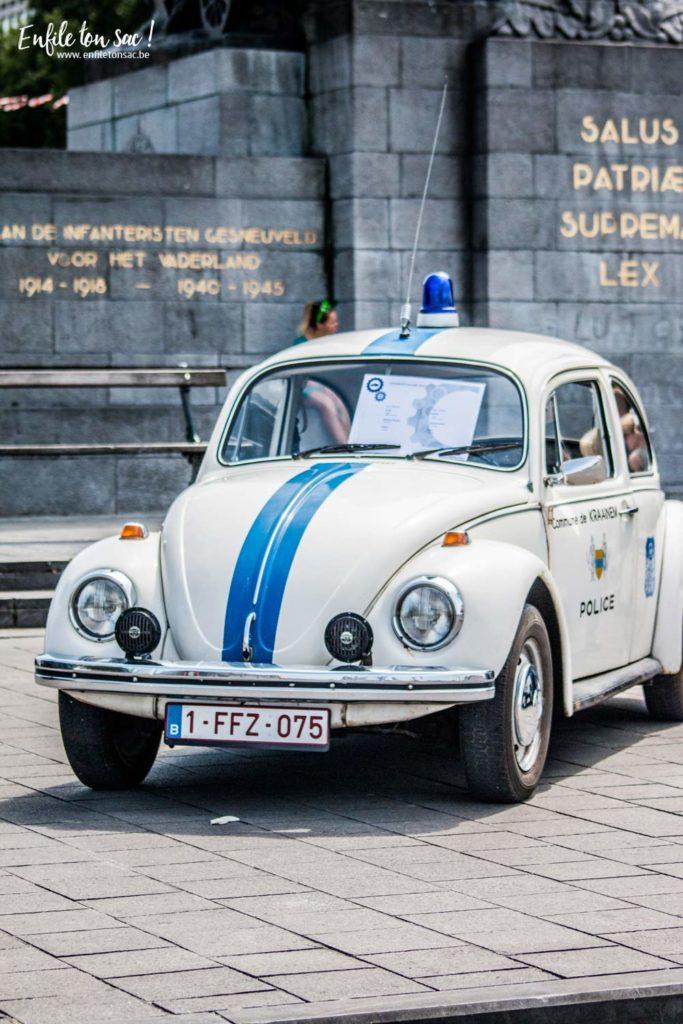fete nationale voiture police 683x1024 Fête nationale 2016, un 21 juillet à Bruxelles