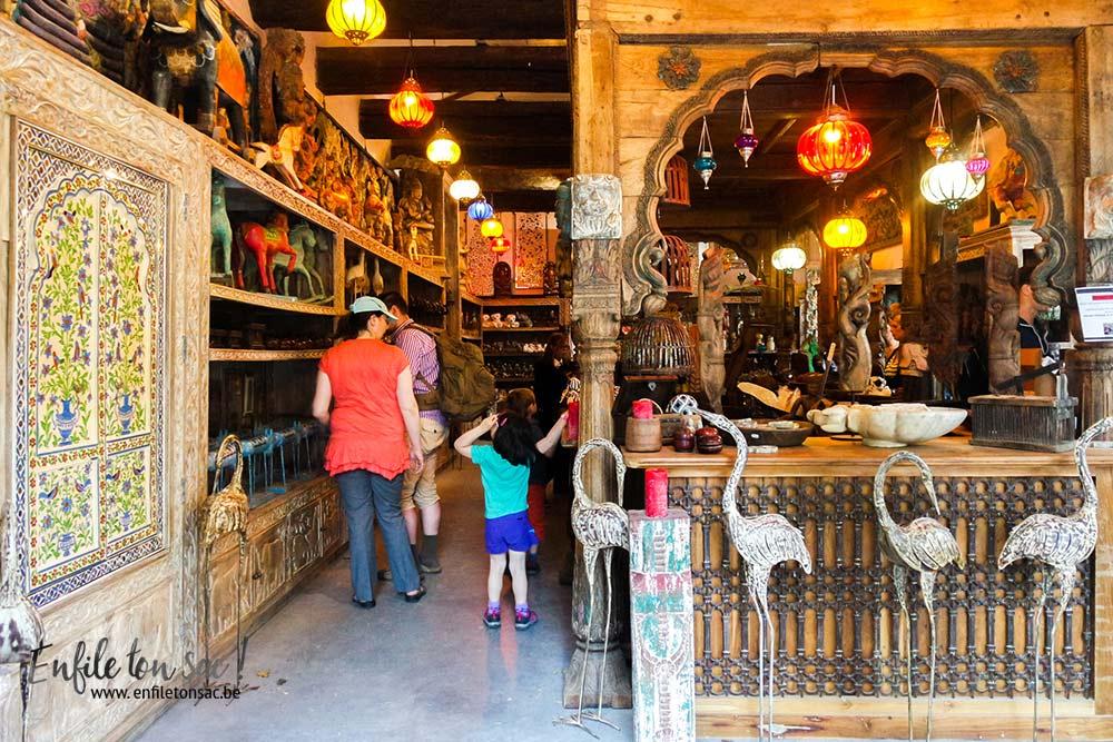boutique estivales Pairi Daiza Estivales 2016 , mon avis, photos et vidéo.