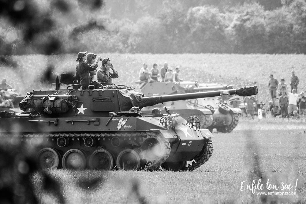mesvin reconstitution tank Tanks in town, le grand rassemblement de blindés et véhicules de collections de la 2eme guerre mondiale.