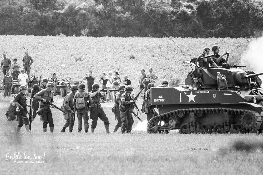 tank in town chars mesvin reconstitution Tanks in town, le grand rassemblement de blindés et véhicules de collections de la 2eme guerre mondiale.